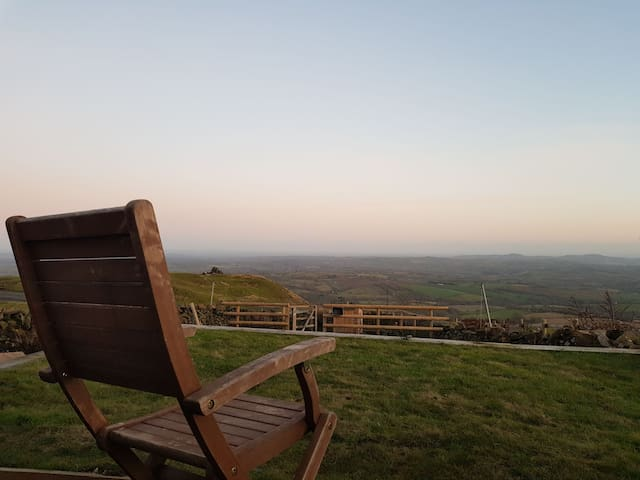 Whatsill Cottage on the top of rural Clee Hill