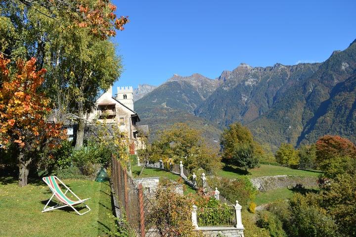 """""""Mozzio antica"""", casa indipendente con giardino"""