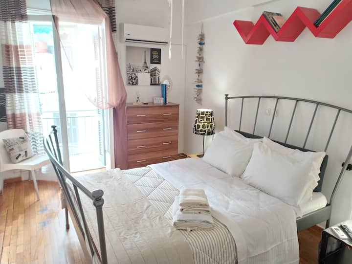 Holiday stay in Athens