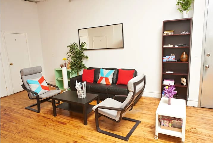 HUGE LOFT IN HIP BUSHWICK 1 - NEAR 2 METROS