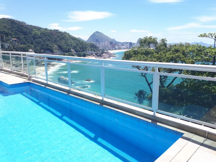 Quarto Privado com bela Vista