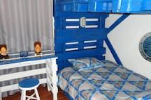 Quarto triplo - boat room