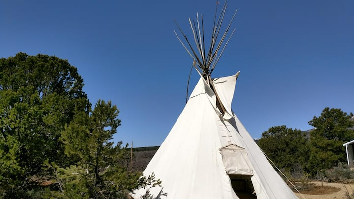 Authentic Tipi with Great Views!