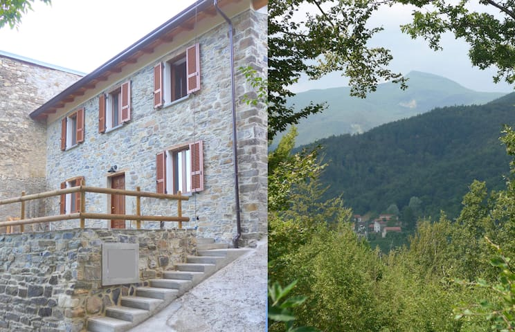 Il Fienile cottage in Apennine mountains