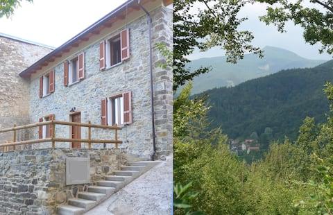 Chalet Il Fienile dans les montagnes Apennine