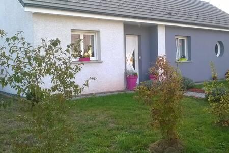 maison moderne à la campagne