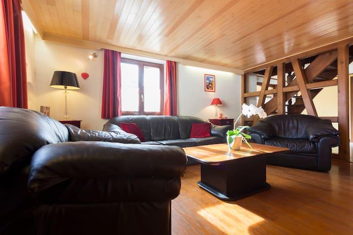 Très spacieuse villa région Colmar