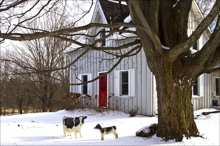 Charming Beaver Valley Farmhouse - Flesherton - Huis