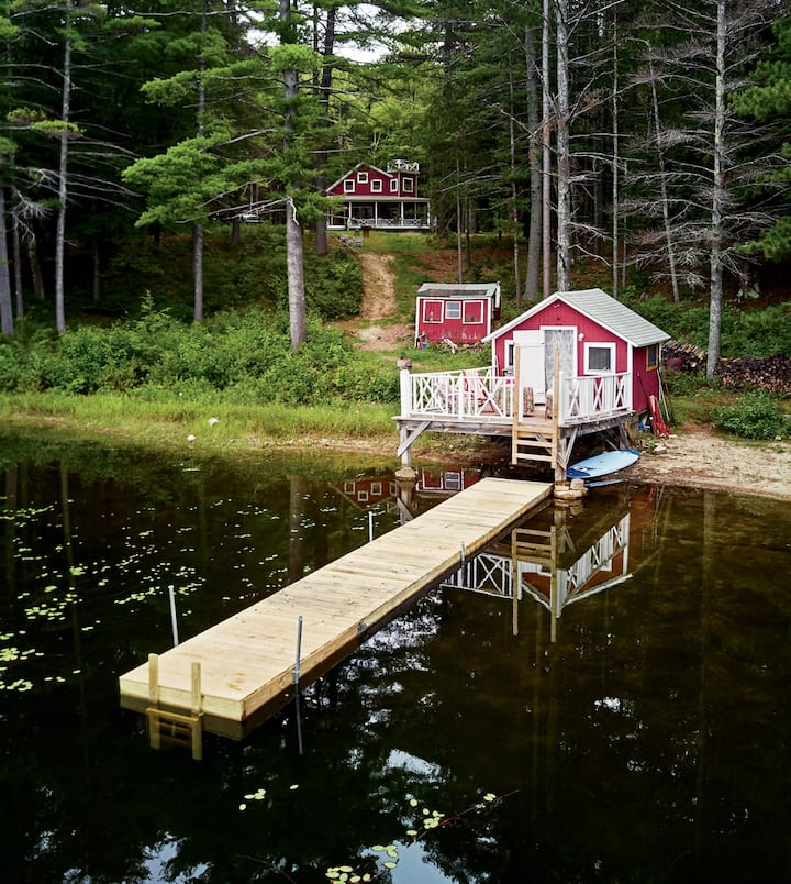 Classic summer lake house, great swimming