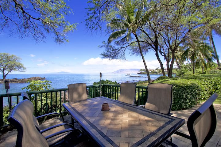 WOW! Oceanfront 3 Bedroom Private Home in Makena!