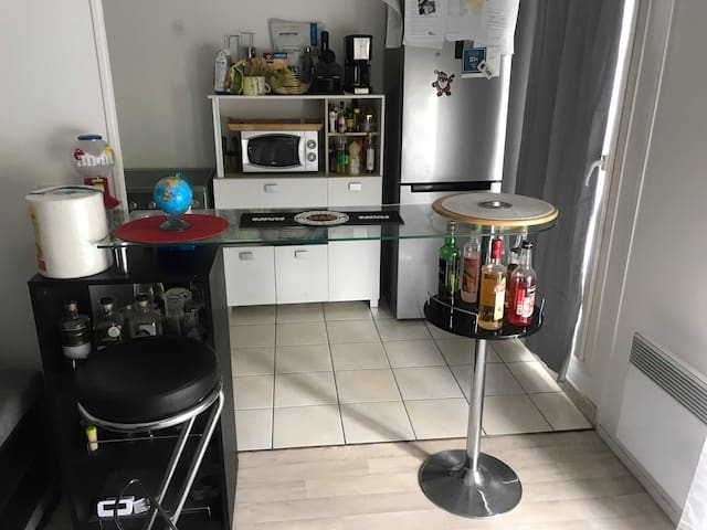 Appartement F2 Face Stade de France