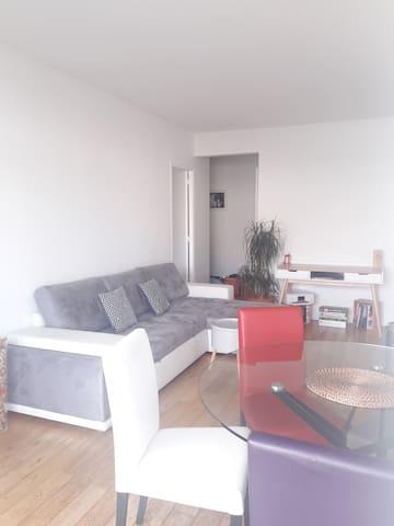Location nuitées T2 40m2 Boulogne-Billancourt