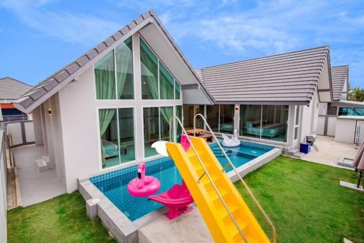 Party@Pool Villa Cha-am/Huahin/Stunning view/WiFi