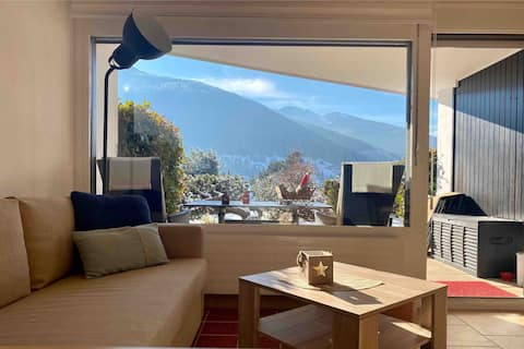 Peaceful apartment in the Swiss Alpes, Vercorin