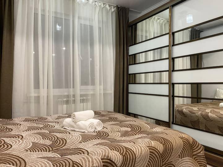 В центре Алматы однокомнатная квартира