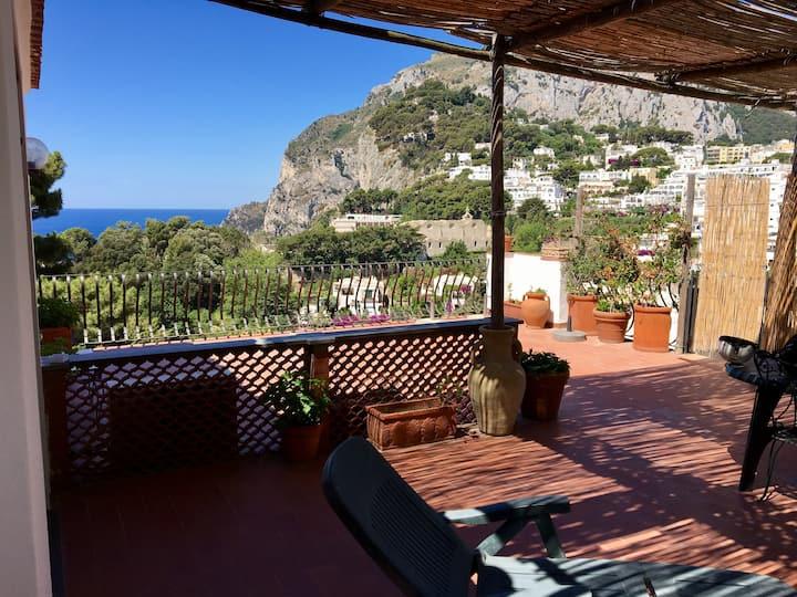 spettacolare suite Tragara Capri