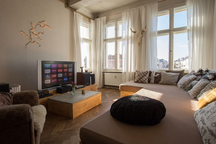 Fernsehturm-Blick! Einzigartig, ruhig, zentral. - Berlin - Apartemen