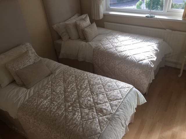 Private Twin Room Close to Blackwood Town Centre.