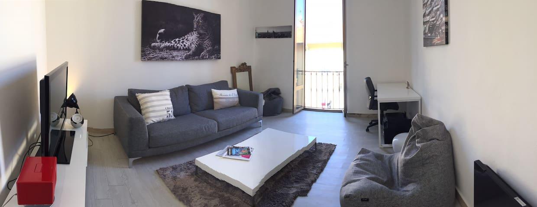 Monaco frontière française, direct Port - Beausoleil - Lägenhet