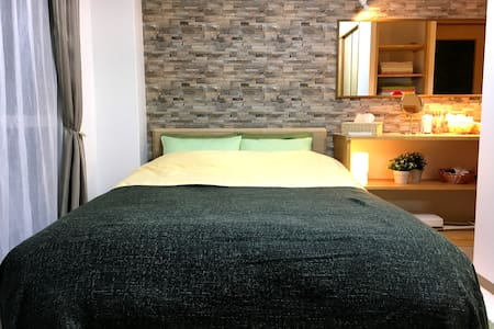 """Suite & Sweet"" for couple & lovers, free pick up - Nara-shi - Apartment"