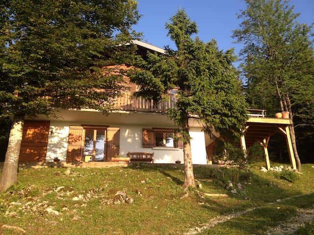 Appartement dans chalet station des Rousses (Jura)