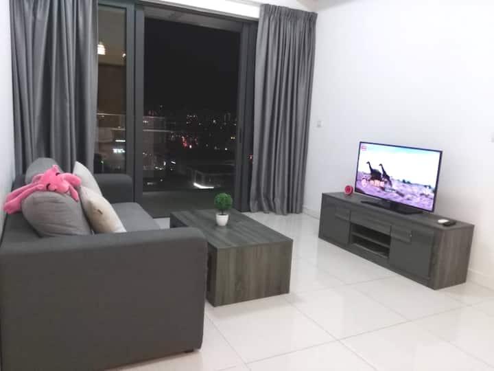 Kuala Lumpur City One Bedroom Apartment (吉隆坡市)