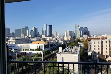 Nice apartment to Paris - Courbevoie - Lägenhet