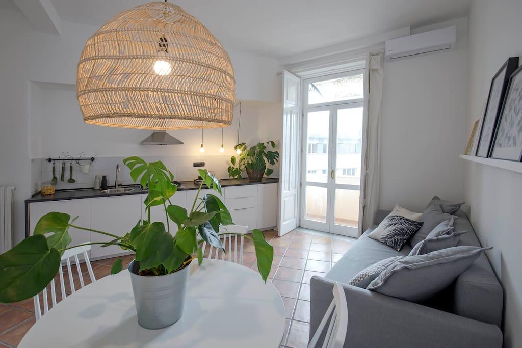 La cucina da un altro punto di vista the kitchen from an other point of you  Casa Giada by Starhost*   #Starhost