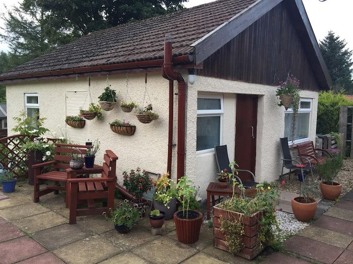The Garden Flat .Near Loch Lomond.