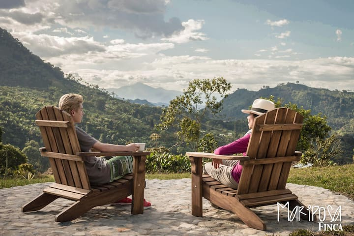 Charming Mountain Cottage & Coffee Farm Experience