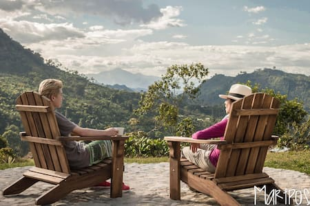 Charming Mountain Home & Coffee Farm Experience