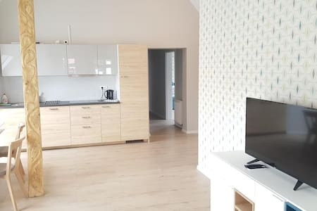 Spacious apartment for max 6 persons