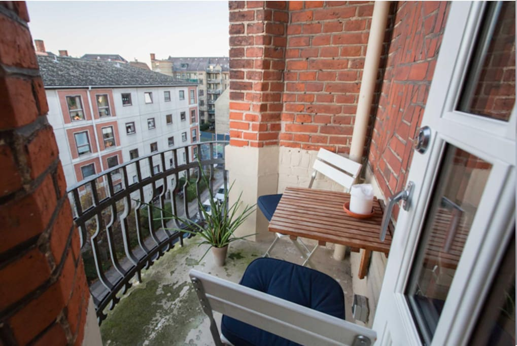 Balcony #2 facing west
