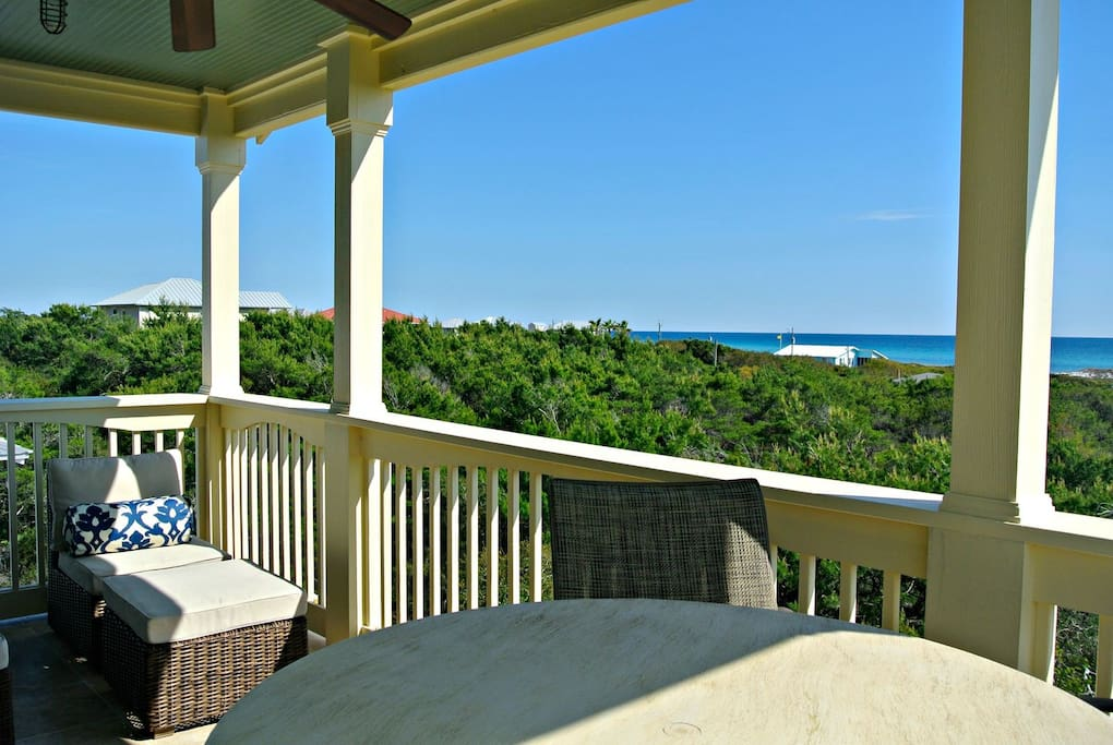Whale Tale ~ Inlet Beach ~ Porch (3rd floor) ~ Paradise Properties
