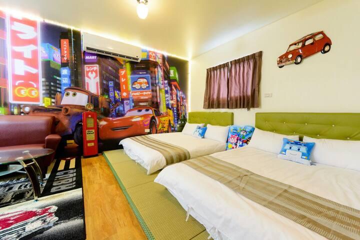 2016全新開幕 金宿喜提供超大房型 主題房型滿足大小孩優質住宿