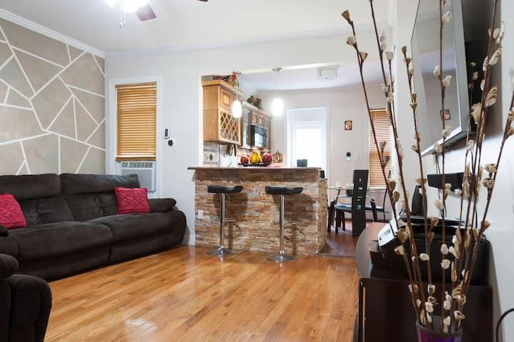Apartamento moderno, solo minutos de Manhattan
