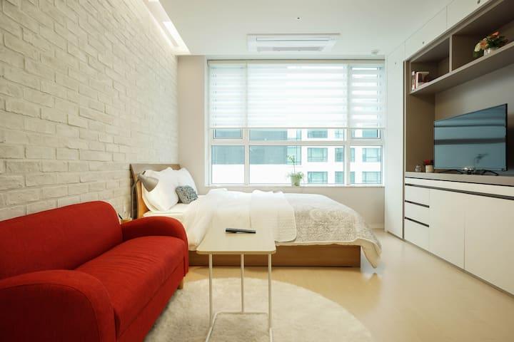 Brand New Studio, 5min Jeongja Stn - Bundang-gu, Seongnam-si - Wohnung