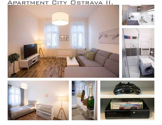 ❤❗FAMILY Apartment in OSTRAVA II. ❗  ❤