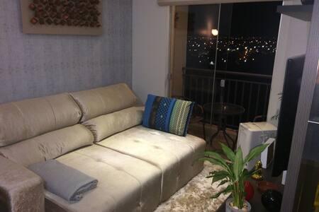 Espaço com ar-condicionado e TV - Campo Grande