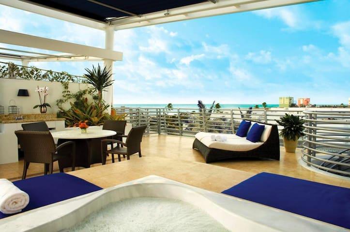 GORGEOUS PENTHOUSE SOUTH BEACH STRIP - Miami Beach