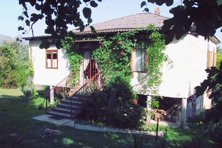 Дом под ключ, без хозяев в с. Приморском, Абхазия.
