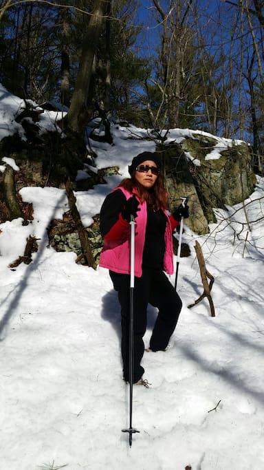 winter hiking advantageous close distance from me hause in Boston