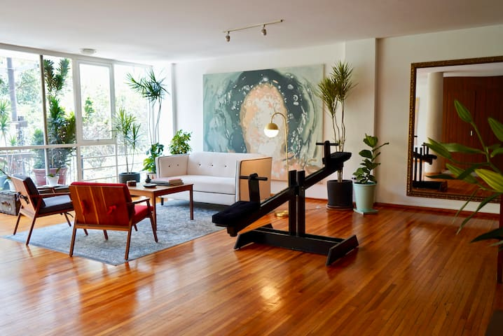 HUGE LUX ART APARTMENT IN HOTTEST PART OF CONDESA