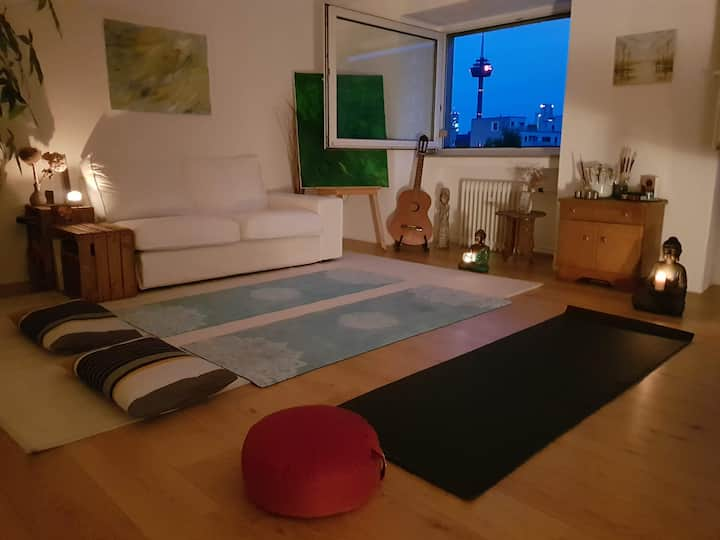 The Location for the Yoga Class!