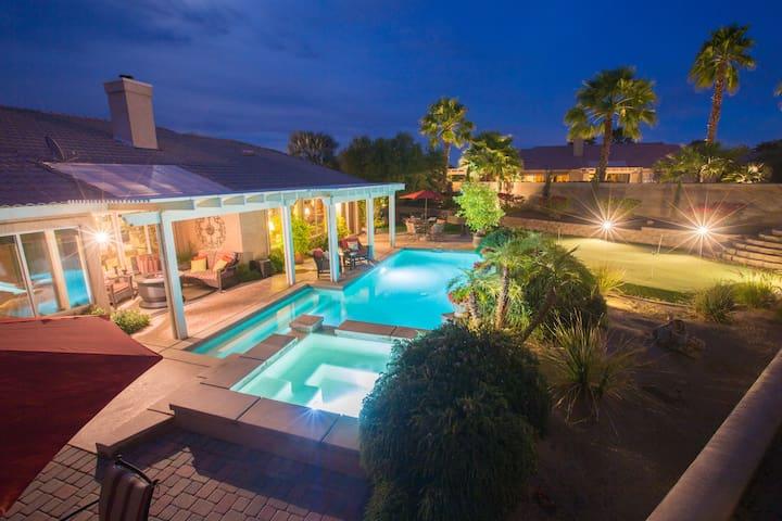 ✦UPDATED✦  HUGE Golf & Coachella Fest Dream Home!