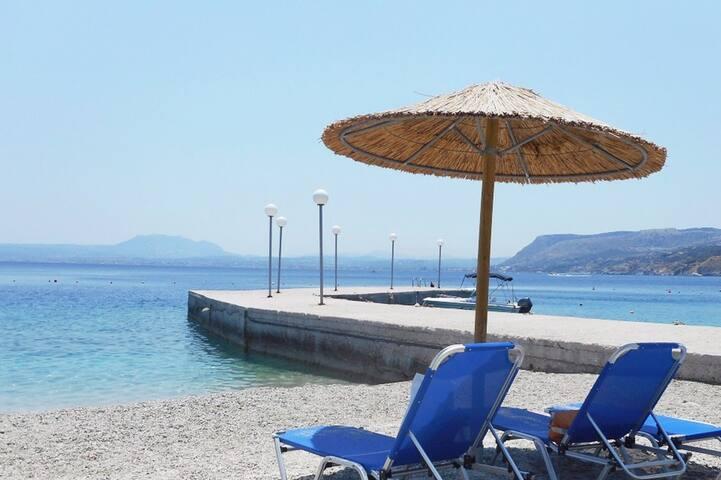 """Beach village apartment in """"Theseus"""""""