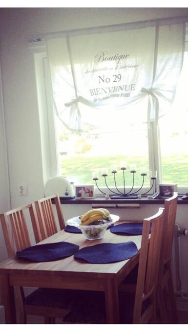 Köket , som är fri tillgång till :)