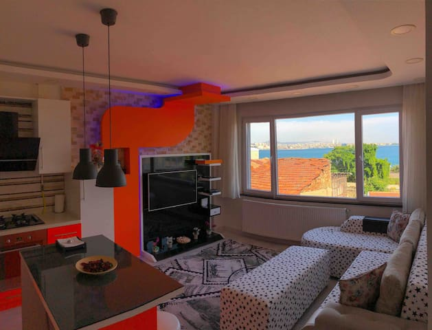 Sultanahmet SEA VIEW apartments with Jakuzi (2+1)