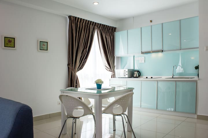 Sky blue apartment - georgetown - Pis