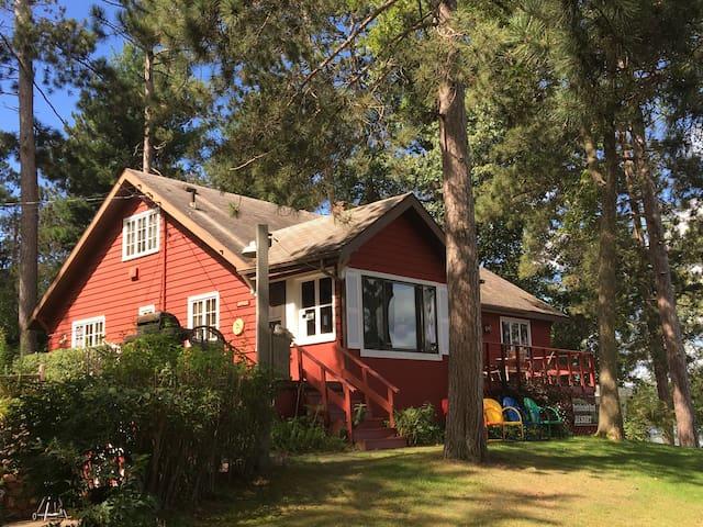 Lakefront Mid Century Cabin